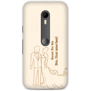 Moto G3 Designer Hard-Plastic Phone Cover from Print Opera -Soon To Be