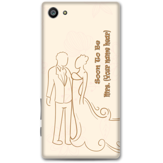 Sony Xperia Z5 Compact Designer Hard-Plastic Phone Cover from Print Opera -Soon To Be