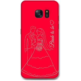 Samsung Galaxy S7 Designer Hard-Plastic Phone Cover from Print Opera -Bride To Be