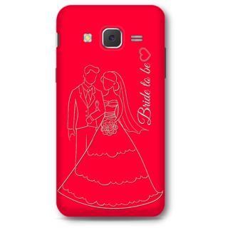 Samsung Galaxy J5 2015 Designer Hard-Plastic Phone Cover from Print Opera -Bride To Be