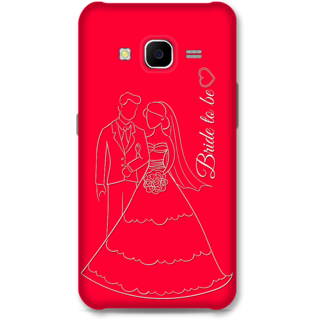 Samsung Galaxy J7 2015 Designer Hard-Plastic Phone Cover from Print Opera -Bride To Be