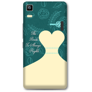 Lenovo K3 Note Designer Hard-Plastic Phone Cover from Print Opera -Rights Of Bride