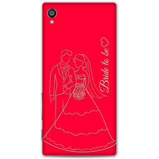 Sony Xperia Z5 Premium Designer Hard-Plastic Phone Cover from Print Opera -Bride To Be