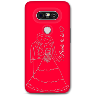 Lg G5 Designer Hard-Plastic Phone Cover from Print Opera -Bride To Be