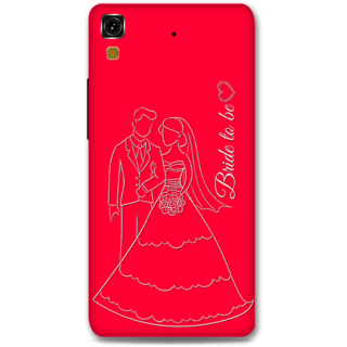 Micromax Yureka Designer Hard-Plastic Phone Cover from Print Opera -Bride To Be