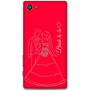 Sony Xperia Z5 Compact Designer Hard-Plastic Phone Cover from Print Opera -Bride To Be