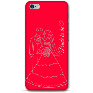 IPhone 6-6s Plus Designer Hard-Plastic Phone Cover from Print Opera -Bride To Be
