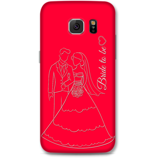 Samsung Galaxy S6 Designer Hard-Plastic Phone Cover from Print Opera -Bride To Be
