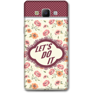 Samsung Galaxy A5 2014 Designer Hard-Plastic Phone Cover from Print Opera -Typography