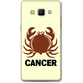 Samsung Galaxy A7 2015 Designer Hard-Plastic Phone Cover from Print Opera -Cancer