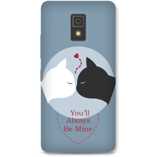 Lenovo A6600 Designer Hard-Plastic Phone Cover from Print Opera -You will always be mine