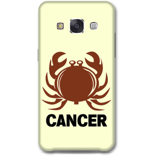 Samsung Galaxy E7 Designer Hard-Plastic Phone Cover from Print Opera -Cancer