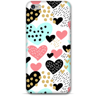 IPhone 6-6s Plus Designer Hard-Plastic Phone Cover from Print Opera -Beautiful hearts