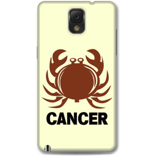 Samsung Galaxy Note 3 Designer Hard-Plastic Phone Cover from Print Opera -Cancer