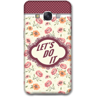 Samsung Galaxy E7 Designer Hard-Plastic Phone Cover from Print Opera -Typography