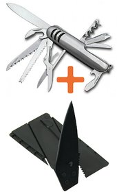 Multipurpose Knife / Credit Card Knife (Combo of 2)