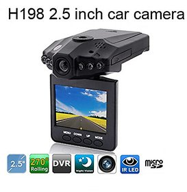 Smileways Wireless CCTV Camera and Car DVR with 2.5 Inches LCD screen and Night Vision