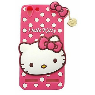 Buy Lenavo K5 Back Cover - Dream2Cool Printed Hello Kitty Soft Rubber Silicone Pink Back Cover Case For Lenavo K5 Online @ ₹399 from ShopClues