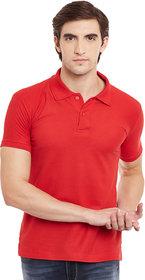 Squarefeet Red Polo Tshirt