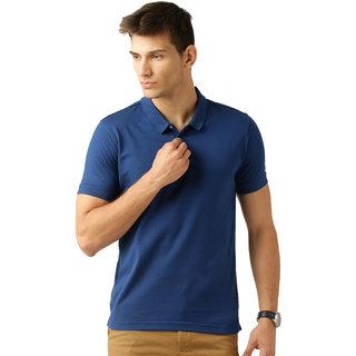 Square Feet Royal Blue Polo Tshirt