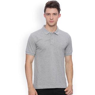 SquareFeet Grey Polo T-shirt