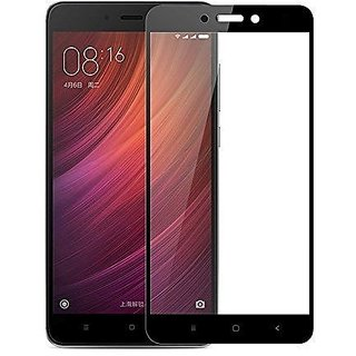 Redmi 4 Black Color Full Screen 2.5d Tempered Glass May 2017 Release