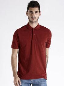 SquarFeet Maroon Polo Tshirt