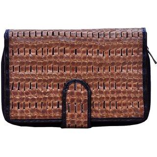 Tamanna Women Casual Brown, Black Clutch