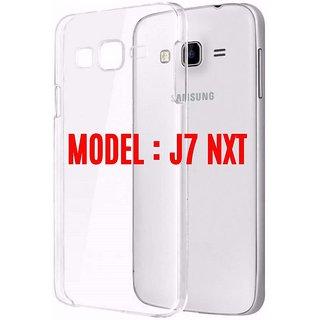 Samsung Galaxy J7 Nxt SM-J701F/DS TRANSAPRENT COVER CASE SOFT ORIGINAL