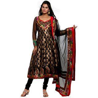 WV&U Black Anarkali Dress