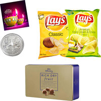 Sweet Hamper Of Cadbury Rich Dryfrits With Delicious La