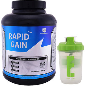 GXN Rapid Gain Plus 6lb, Chocolate Creme' & Branded Sha