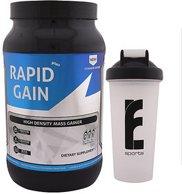 GXN Rapid Gain Plus 3lb, Vanilla Creme' & Branded Shake - 135084167