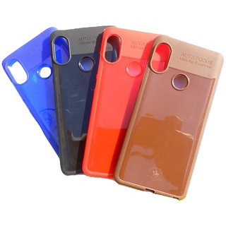 quality design 961b7 5bec6 Redmi Note 5 Pro (2018) Back Cover Autofocus Stylish Back Cover Shining  Look Shockproof