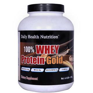Dhn  Whey Protein Gold 2 Kg (Mango) With Free Dhn Metabolism Modifier