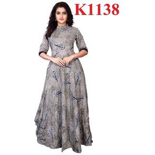 Fashionsmart Multicolor Printed Rayon Kurti LCK-1138_S