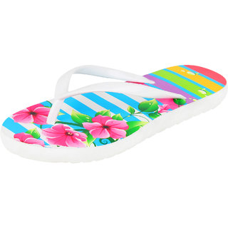 Bersache Women Multicolor-696 Flip-Flops House Slippers