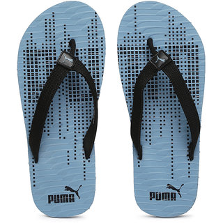 fed95bfe88f9 Buy Puma Unisex Black Blue Printed Animatrix Flip-Flops Online - Get ...