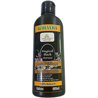Aryanshakti AloeVera Amla  Shikakai Magical Black Shampoo 250ml