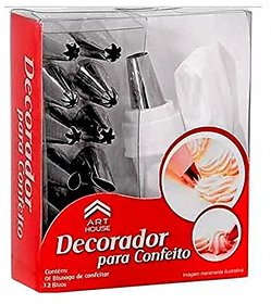 Ezzideals Cake Icing Decorator Bag with 14pc nozzles set