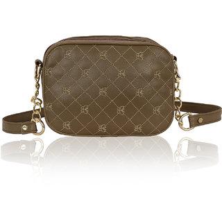 Kleio Designer Double Compartment Cross Body Sling Bag for Girls / Women