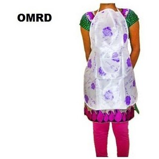 OMRD Cotton Home Use Apron - Free Size  (Multicolor, Single Piece)
