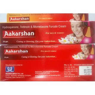 AAKARSHAN SKIN CREAM 2 PC