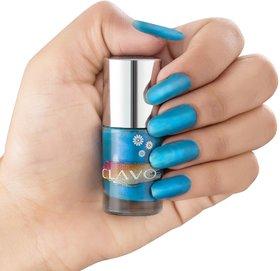 Clavo Long Wear Glossy Nail Polish Sky Blue- 6ml