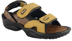 RSV Men's Tan Floater Sandals