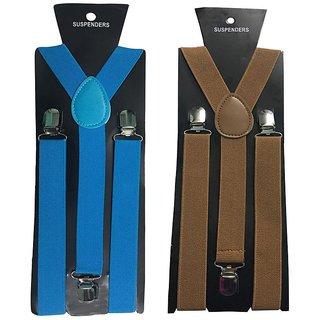 Atyourdoor Y- Back Suspenders for Men(NB Choco Color)