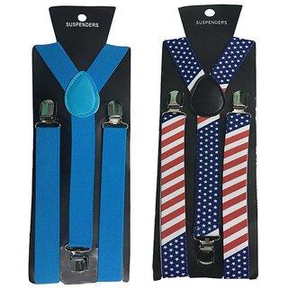 Atyourdoor Y- Back Suspenders for Men(NB Star Design)