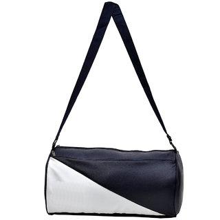 Buy CP Bigbasket Stylish Leather Rite Duffel Sport Travel Gym Bag (Navy  Blue 3c97239e006af