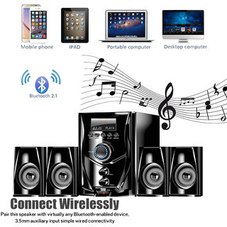 TANYO TA-0333 4.1 Portable Home Theater System with Bluetooth Connectivity and 1 Year warranty
