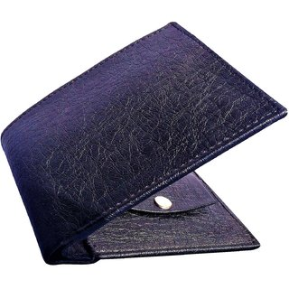 Friends Company Italian Mens Black Unique Artificial Leather Wallet-FashioncodeFC142